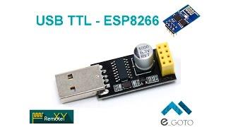 USB TTL to ESP8266-01
