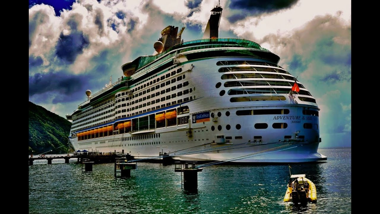 Ship Tour Adventure of the Seas With Cruise Director Rob ...