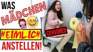 IRRE DINGE die MÄDCHEN HEIMLICH ZUSAMMEN TUN! | Was FREUNDINNEN allein WIRKLICH machen...