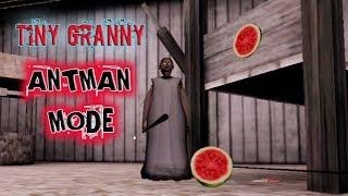 Tiny Granny In Antman Mode