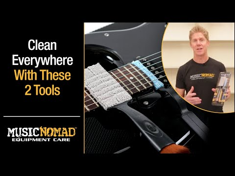 How to Clean and Detail your Guitar with the Nomad Tool Set by MusicNomad