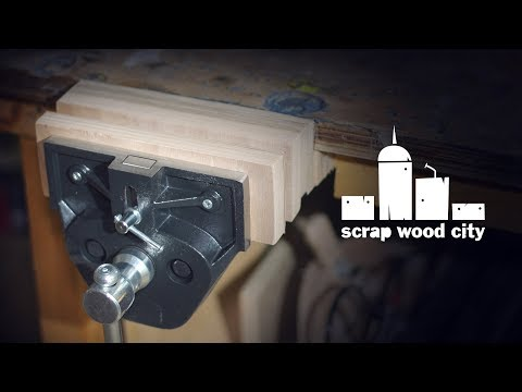 Installing my woodworking bench vise