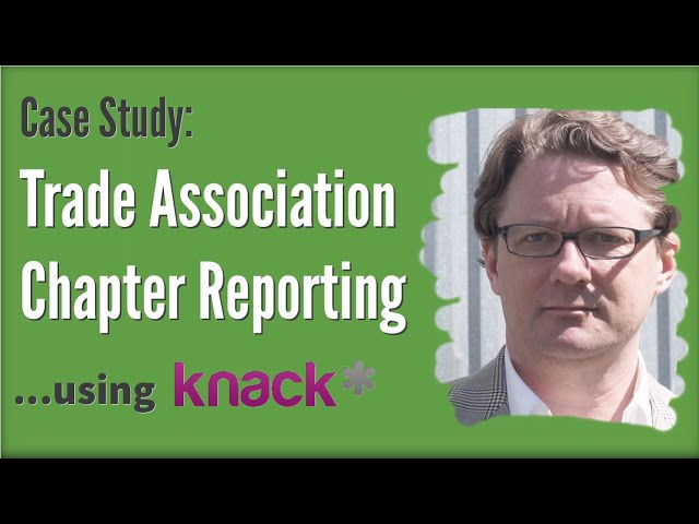 Case Study: Trade Association Chapter Reporting