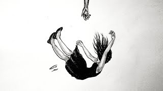 رسم سهل بالرصاص .. سلسلة الرسوم التعبيرية #17