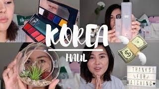 Video KOREA HAUL 2017 | Mila Gulfan download MP3, 3GP, MP4, WEBM, AVI, FLV Desember 2017