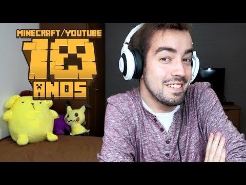 10 ANOS DE MINECRAFT! (QUASE) 10 ANOS DE YOUTUBE!