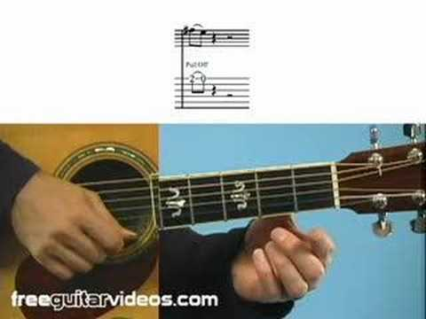Learning Guitar Tab: Hammer Ons & Pull Offs