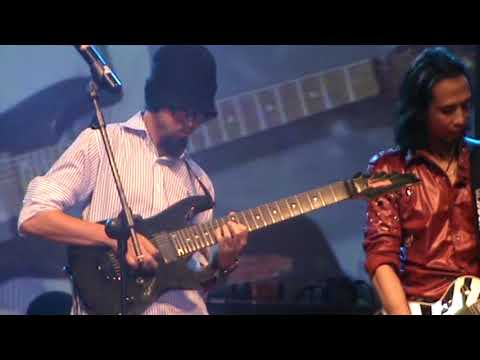 Jamming All Artist At Gitaran Sore  2013 Bandar Lampung ( SMOKE ON THE WATER )