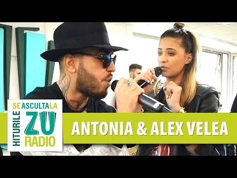 Antonia si Alex Velea - Can't Feel How Deep Is Your Hotline 679 (Live la Radio ZU)