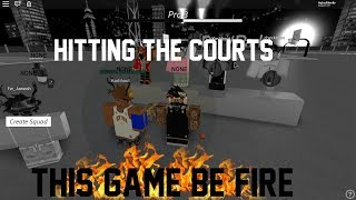 Roblox - Ap MyPark Hitting the Courts! 2v2s and 3v3s.