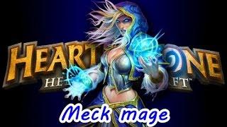 Hearthstone#2 Gameplay de meck mage barato que poder chegar a lendario! [PT-BR]