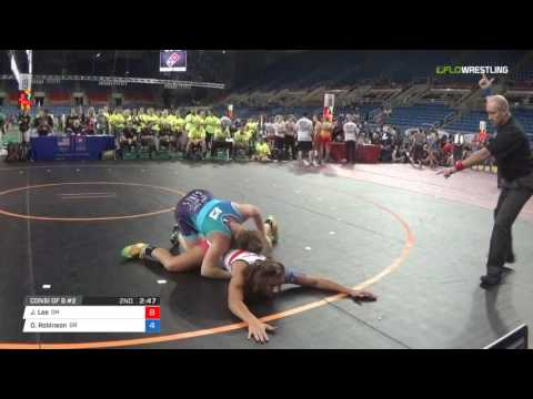 Championship 180 Consi of 8 #2 - Jesaphine Lee (OH) vs. Olivia Robinson (OR)