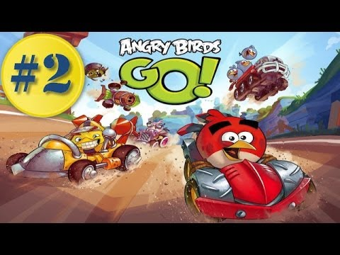 Angry Birds Go! Gameplay Walkthrough Part 2 - Stella Crazy Racing