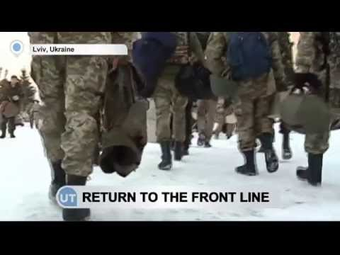 Ukrainian Soldiers Return to Frontline: Lviv paratroopers continue fighting pro-Russian insurgents