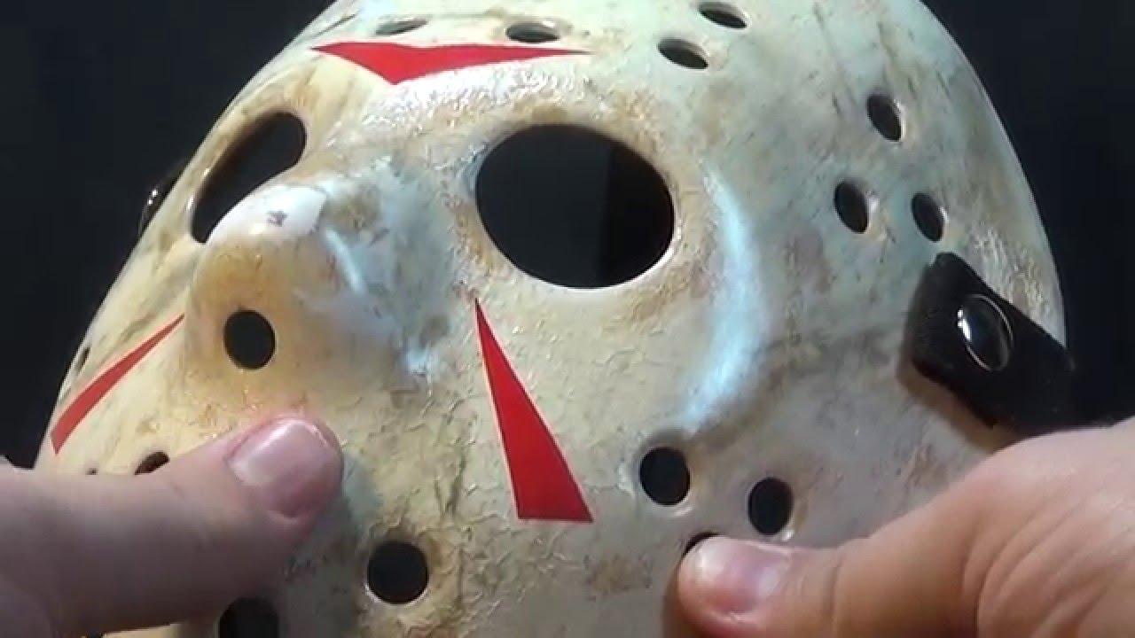 Friday The 13th Part 3 Hockey Mask Kit Jdf Studios Prop Replica