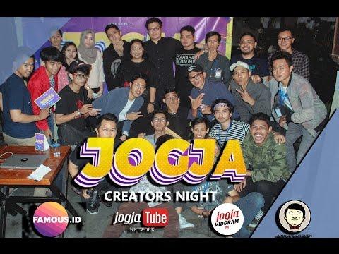 Jogja Creator Night - With Picky Picks - ( Famous ID & Yogya Youtubers Network)