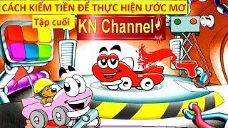 CÁCH KIẾM TIỀN ĐỂ THỰC HIỆN ƯỚC MƠ TRONG THẾ GIỚI XE ĐUA TẬP 4 | Trò chơi KN Channel giáo dục trẻ em