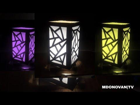 Kreasi Kardus Bekas Dibuat Lampu Gantung Hias Mudah Dan Murah | DIY Room Light From Cardboard.