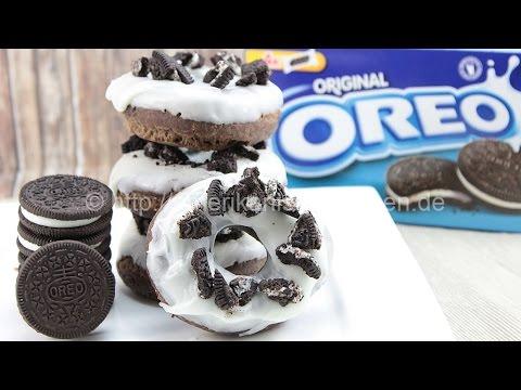 OREO Donuts I How to make Oreo Donuts I Oreo Doughnuts