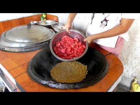 安徽阜阳:农村小宁十元成本做一盆西瓜酱,秘方现场公布