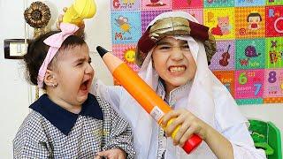 Celina And Hasouna At school - سيلينا وحسونة في المدرسة