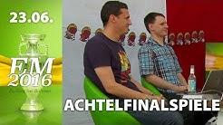 [2/2] Achtelfinalspiele - Prognose   Rocket Beans TV EM-Studio   23.06.2016