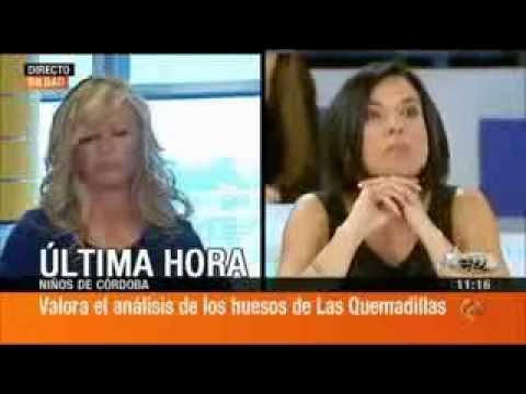 Participaci n de la dra alcaraz en el programa espejo for Antena 3 espejo publico programa hoy
