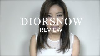 Dior DIORSNOW Review