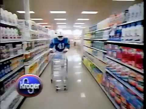 October 1988 - Colts Player Makes Mad Dash Through Indy Supermarket