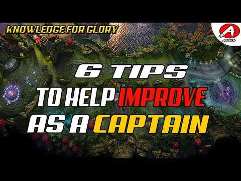 6 Tips To Improve As A Captain/Support - How To Support In Vainglory