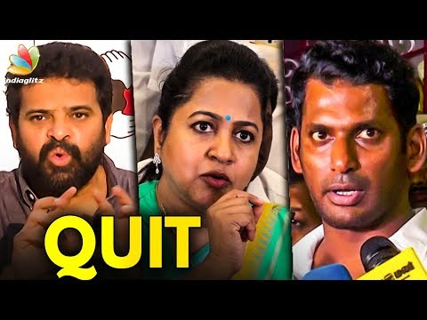 Vishal Succeeded in Nadigar Sangam but Failed in Producer Council   Ameer Speech