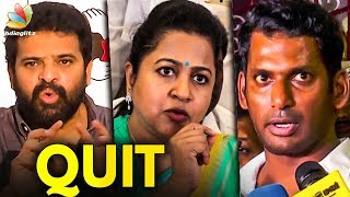 Vishal Succeeded in Nadigar Sangam but Failed in Producer Council | Ameer Speech