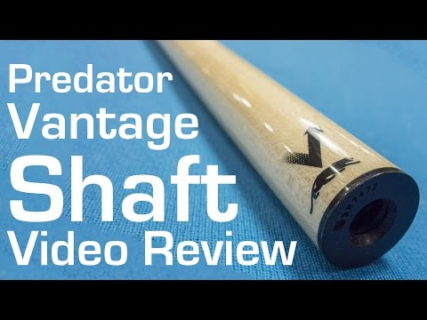 Predator Vantage Shaft Video Review and Deflection Test by Select Billiards