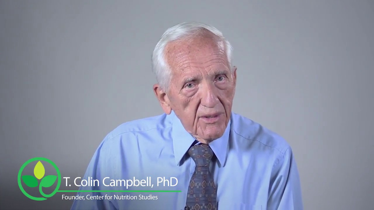 Dr  T  Colin Campbell - Center for Nutrition Studies