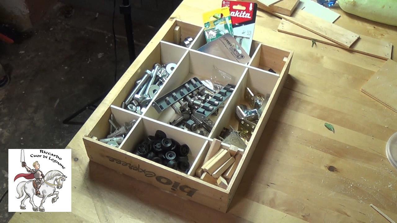 Fai da te come fare una scatola a scomparti in pochi for Fioriere fai da te in legno