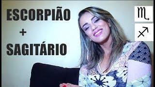 28-ESCORPIÃO E SAGITÁRIO compatibilidade no amor