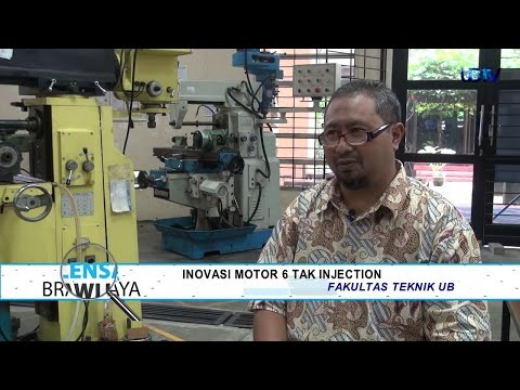 UBTV Lensa Brawijaya: Inovasi Motor 6 Tak Injection - Seg 3