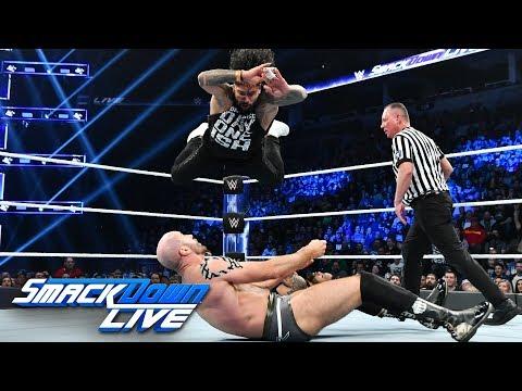 The Usos vs. The Bar: SmackDown LIVE, Nov. 27, 2018