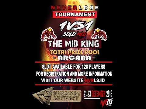 🔴 TOURNAMENT DOTA 2 - FAJRI VS MENANGTERUS - THE MID KING | BY NVRLS ID