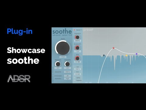 oeksound soothe - product showcase -  Dynamic resonance suppressor for mid and high frequencies