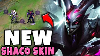 RIOT RELEASED A NEW SHACO SKIN!!   Crime City Nightmare Shaco