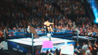 WWE 12: 9 ways to go through a table