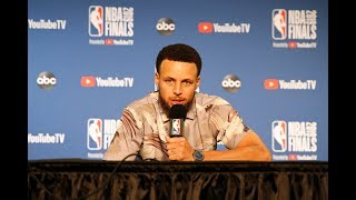 Stephen Curry Doesn't Care About Scoring Finals Career-High - Full Press Conference   Game 3