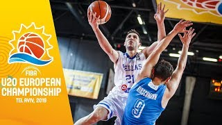 Greece v Slovenia - Full Game - FIBA U20 European Championship 2019