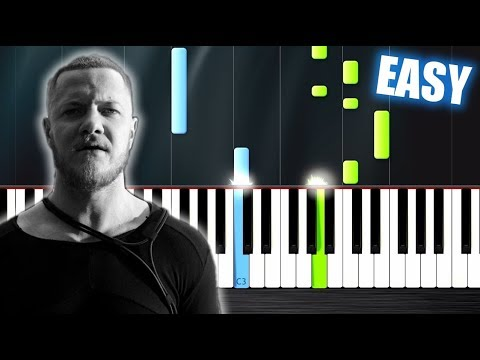 Imagine Dragons - Thunder - EASY Piano Tutorial by PlutaX