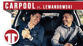 CARPOOL mit ROBERT LEWANDOWSKI - kann er singen?!