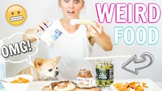Trying WEIRD FOOD Combinations People LOVE! | Rebecca Louise