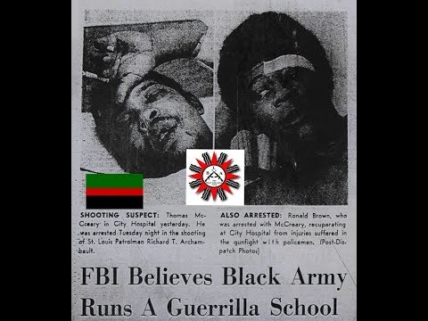 Black Liberation Army (THE B.L.A.) History The Secretz of War: Mccreary, Shakur, Cleaver,