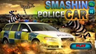 Smashing Police Car - Best Smash Racing Game