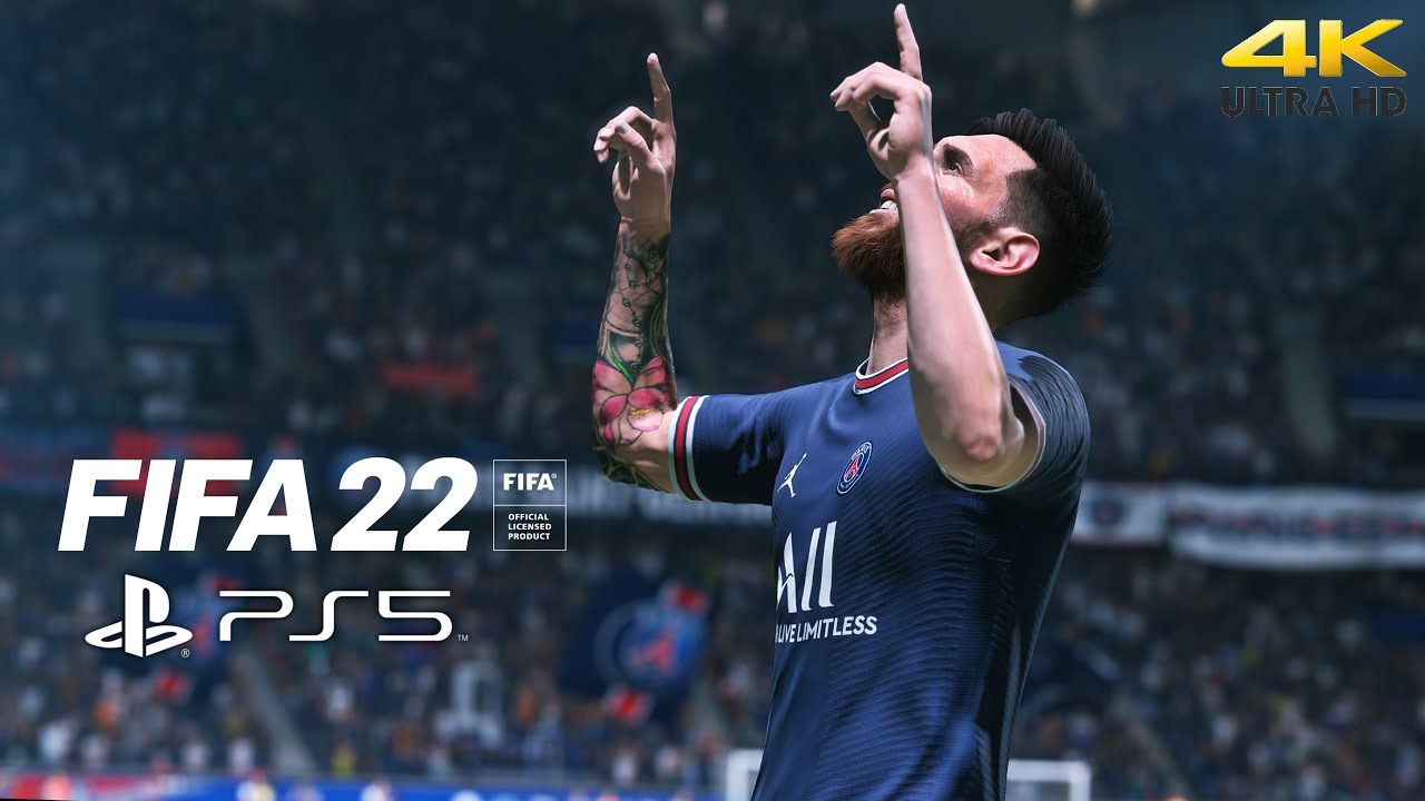Download FIFA 22 - PSG vs Manchester United | PS5™ Gameplay [4K 60FPS]